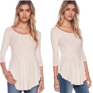 Intimately Free People Weekend Layer Tunic Top L